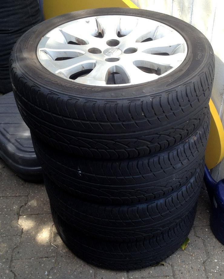 Daihatsu Materia Alufelgen mit Hankook Reifen