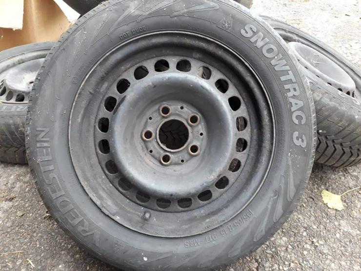 Verschiedene Reifen und Felgen