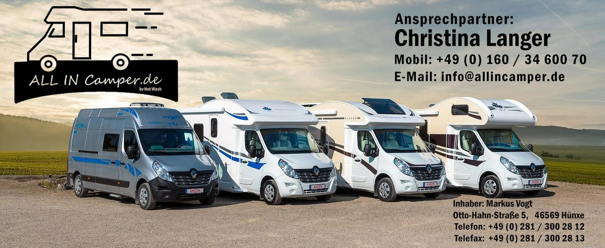 Wohnmobile mieten von All In Camper NRW