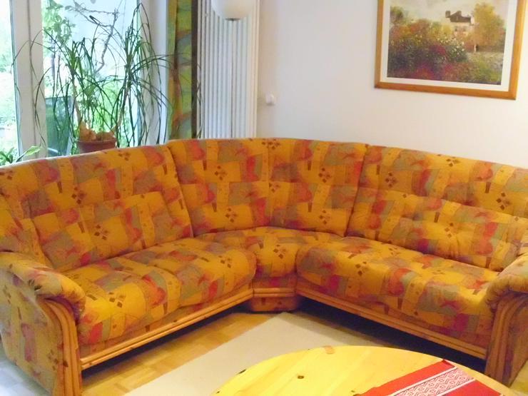 Winkelsofa plus Sessel