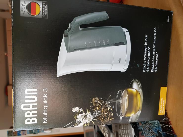 Braun Multiquick 3 Wasserkocher