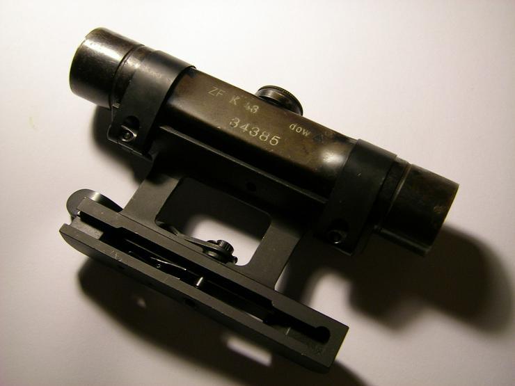 Zielfernrohr ZF4 dow aus Wk2 fur G43/Stg44