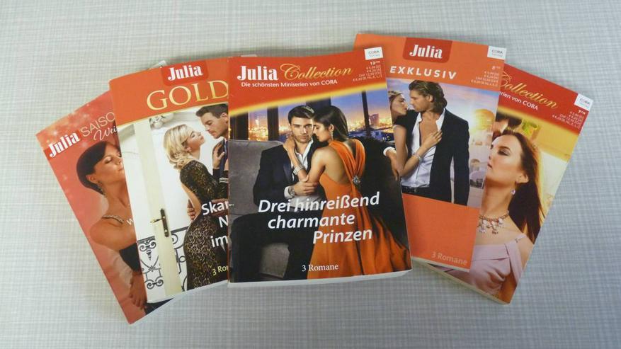 5 Romanhefte mit  15 Romanen charmante Prinzen