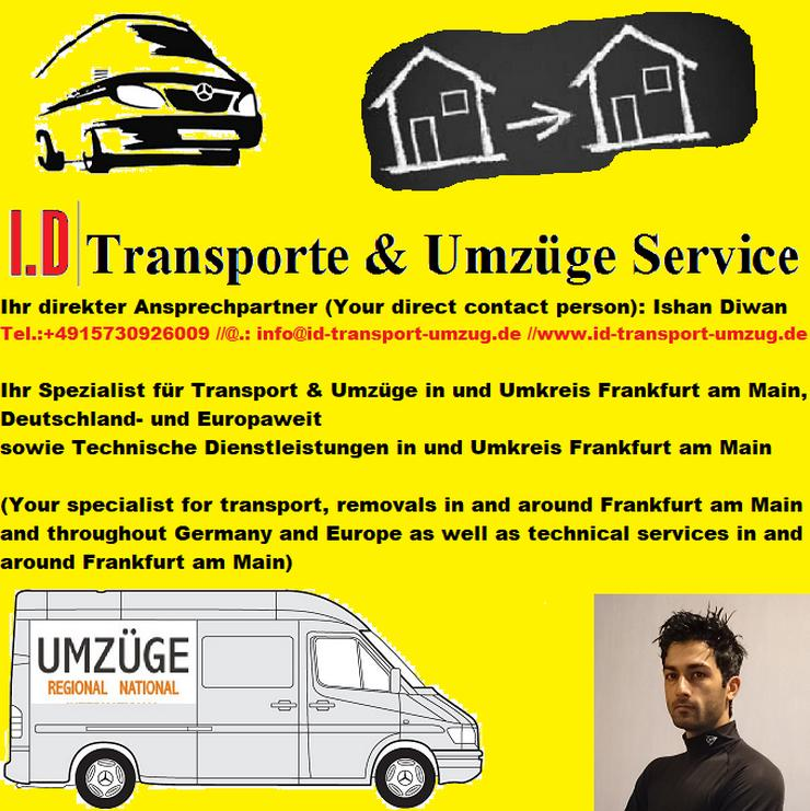 Professional MOVING & TECHNICAL Services in and around Frankfurt am Main and throughout Germany & Europe