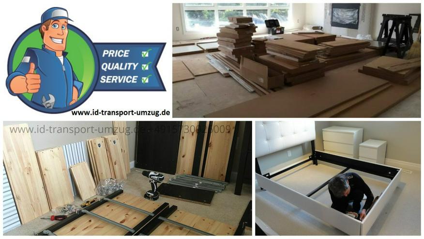 Umzugservice in Umkreis Frankfurt am Main und Europaweit, professionell sofort und versichert