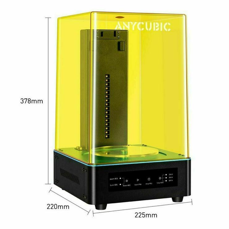 3D Drucker SET ELEGOO MARS & ANYCUBIC Wash & Cure UV LED SET Angebot