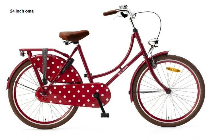24 inch madchen fiets  fahrbereit