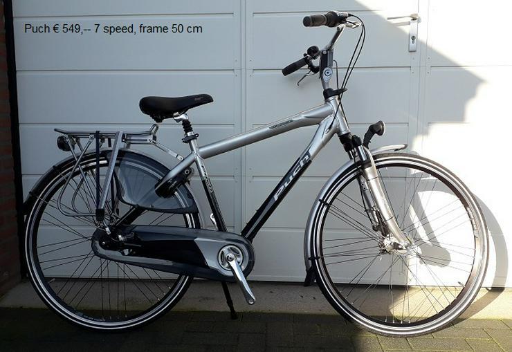 diverse  H/ D fietsen ook batavus- gazelle