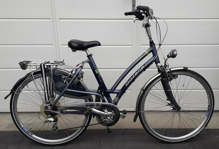 gazelle dames fiets, 8 speed, dubbele vering