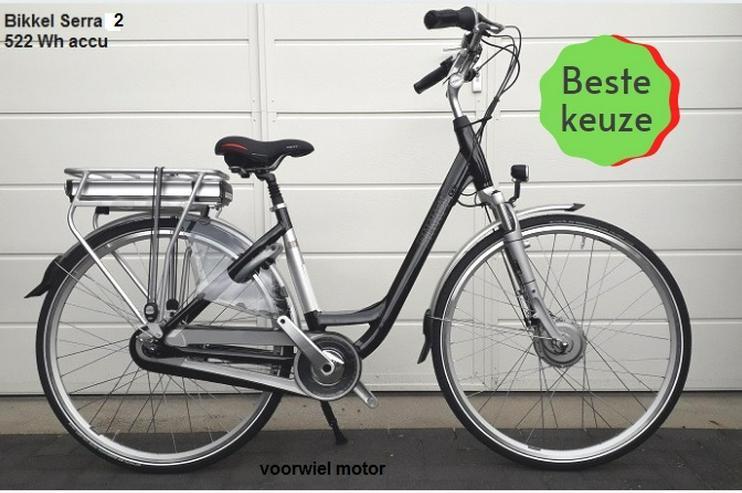 bikkel e-bike, 8 speed ,+accu 522 wh accu