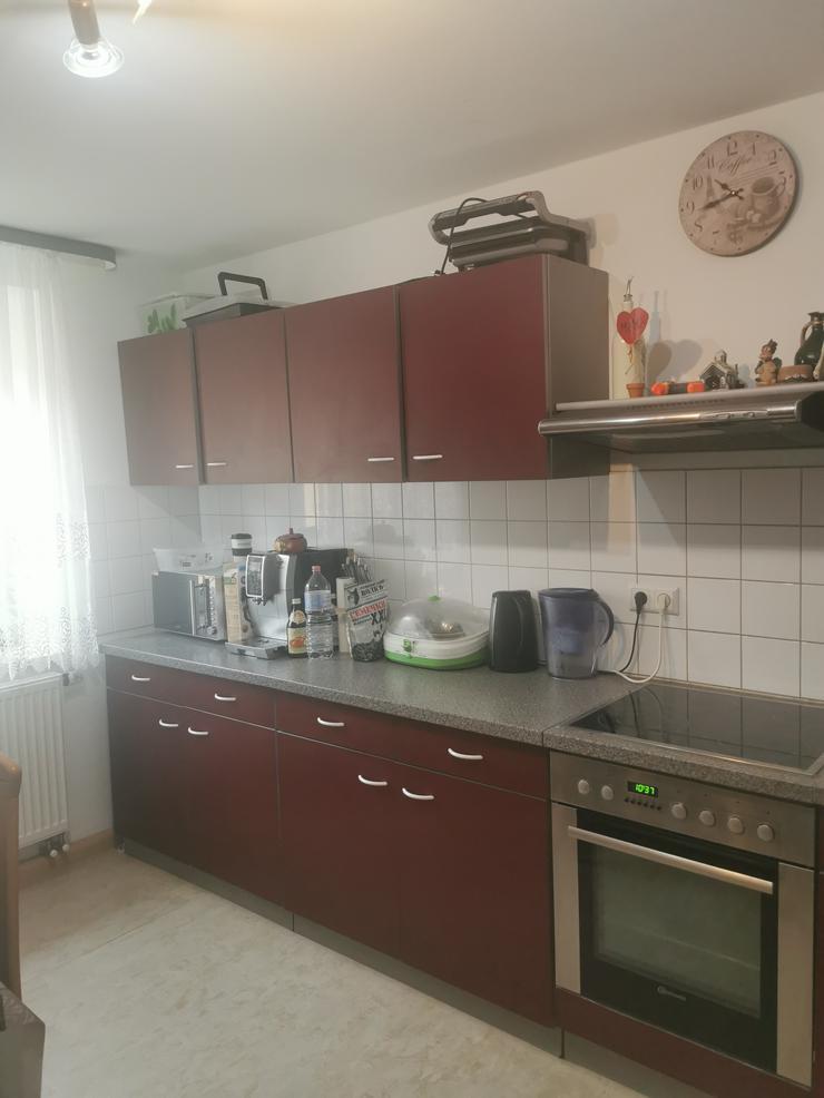 Küche mit Elektrotechnik