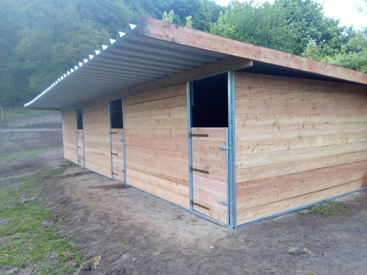STAHL+HOLZ Weidehütte Weidezelt 6 x 3 x 2,80m auch mobil
