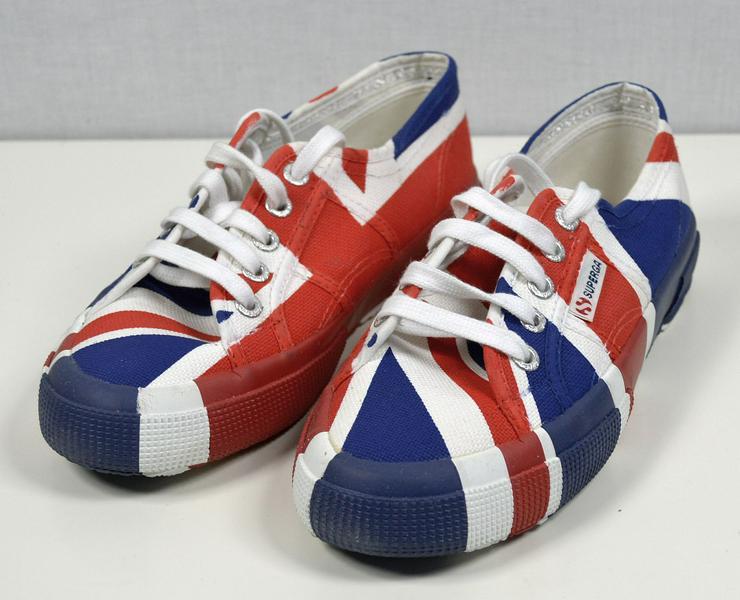 SUPERGA Cotu Flag United Kingdom Sneaker Gr.37 Schuhe 30121600