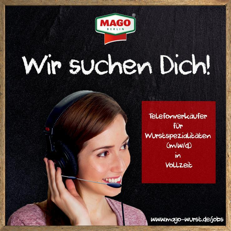 Aktiver Telefonverkäufer für Wurstspezialitäten (m/w/d) gesucht!
