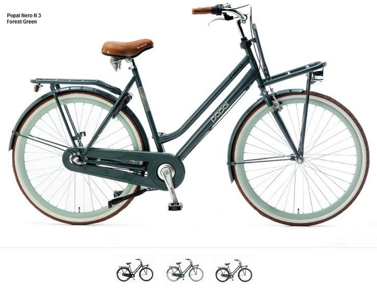 transport fiets , rahmen 50 cm 3 Beschleunigung  Handbremse Rücktrittbremse