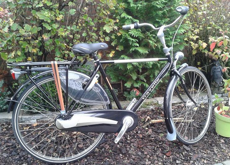 gazelle heren fiets, 5 Zahnräder und Rücktrittbremse