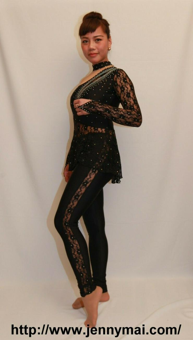 Sonderanfertigung Kostüme,Wettkampfanzug,Turnzanzug für Tanzsport - Größen 36-38 / S - Bild 1