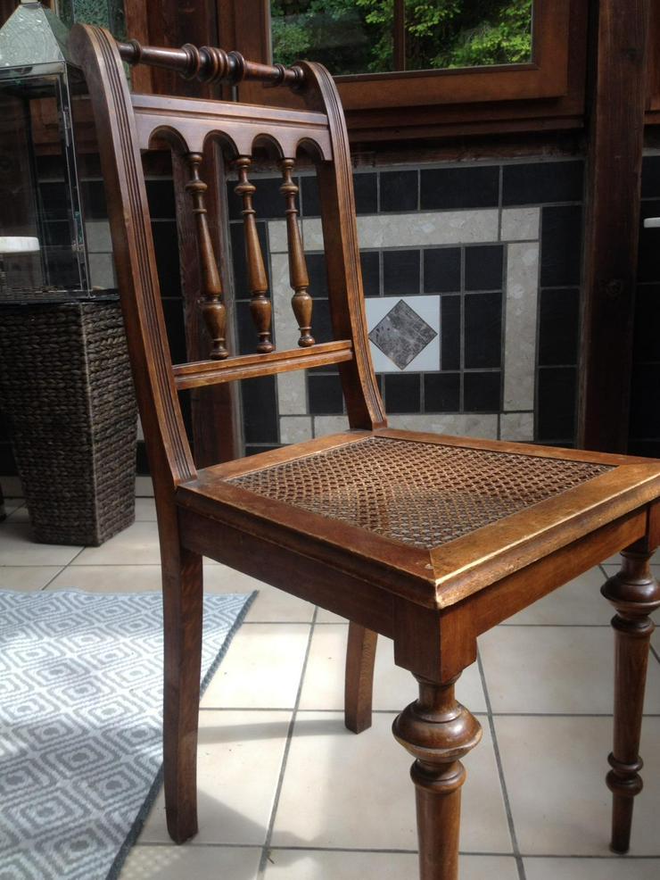 5 Antike Stühle aus der Gründerzeit