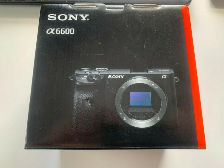 Sony Alpha a6600 24.2MP 4K Digital Camera- Body