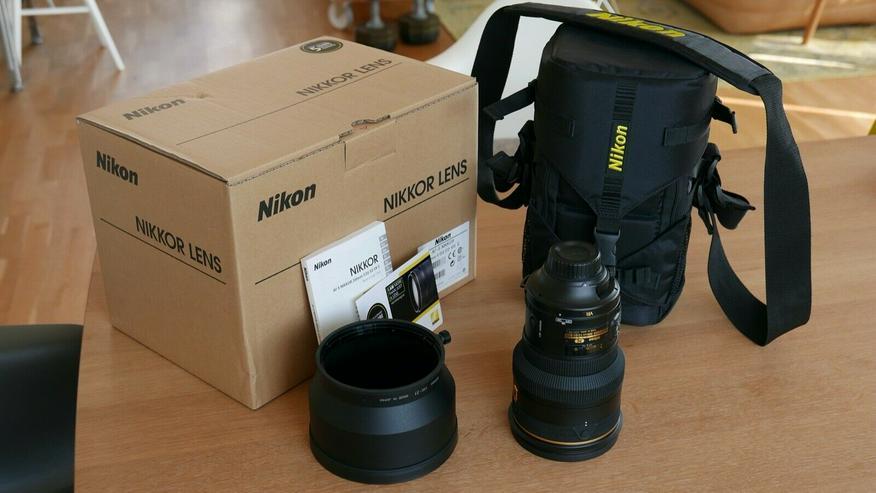 Nikon AF-S NIKKOR 200mm f/2G ED VR II Objektiv