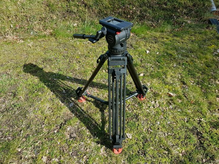 Sachtler Video 18 P - Carbon Fiber Tripod with Fluid Head