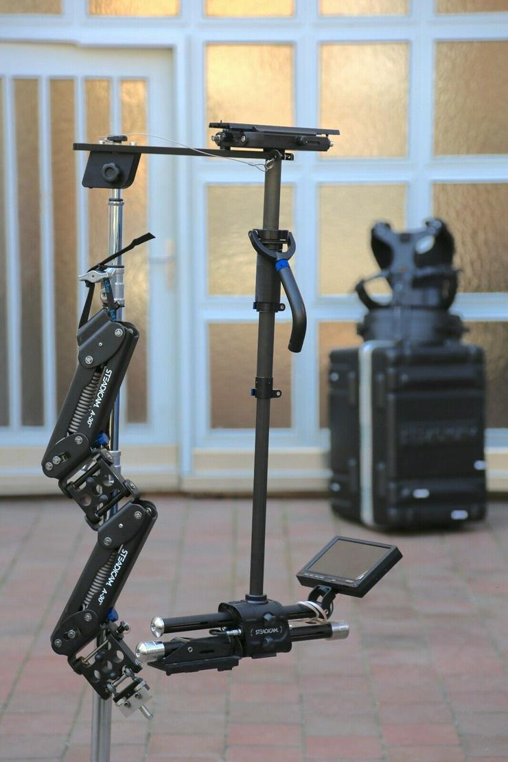 "Steadicam Zephyr Camera Stabilizer with 7"" HD Monitor"