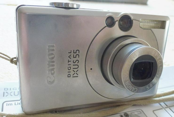 Funktionsfähige Canon Digital IXUS 55 Digitalkamera