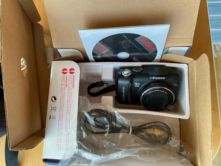 Canon PowerShot Kamera, OVP + Tragetasche