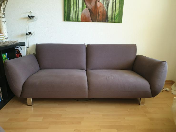 2er Sofa + Hocker