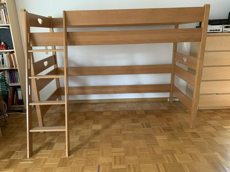 Paidi Varietta - Spielbett 155 cm - Massivholz Buche