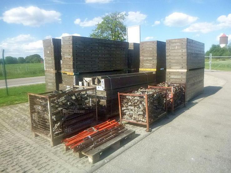 242m² Hünnebeck Schallung Kellerschalung Wandschalung mit viel Zubehör und Ankermaterial
