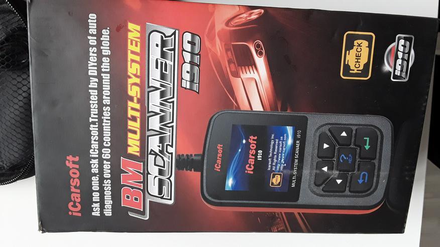 ICarsoft I910 ODB2 - Scanner für BMW