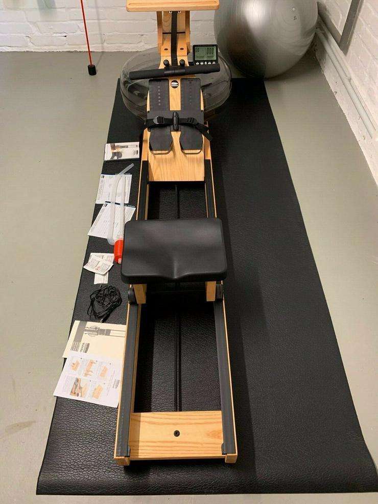 Waterrower Rudergerät Esche mit S4-Monitor neuwertig