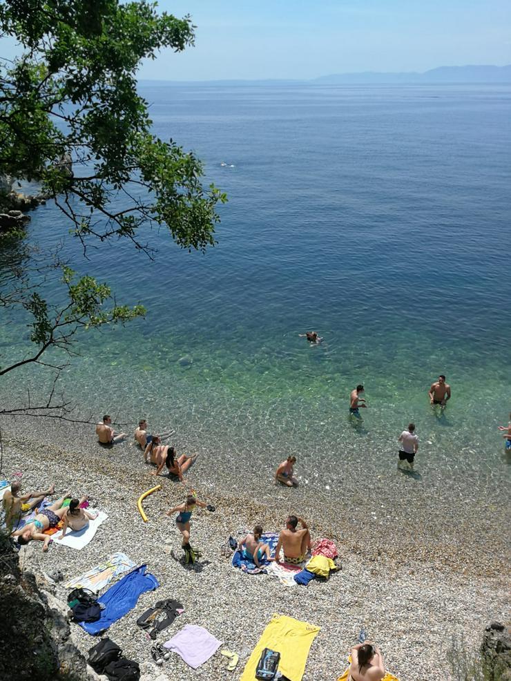 Bild 3: Schicke Luxus Wohnung mit Meerblick, Wintergarten und Gartenfläche - in Opatija, Kroatien -