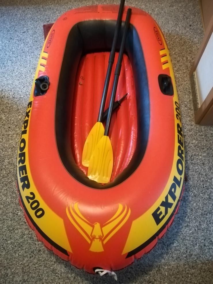 Aufblasbares Boot-Set Explorer 200 in Topzustand