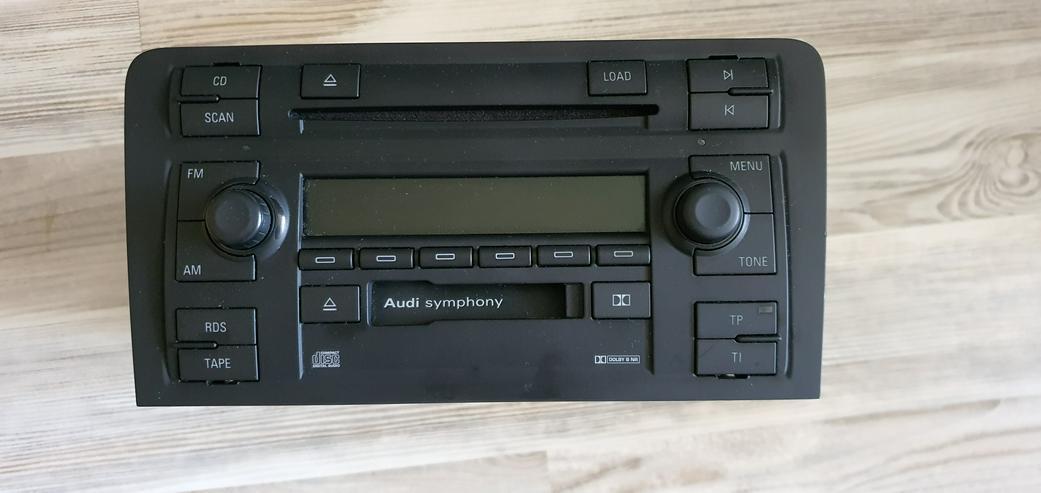 Audi A3 8P Symphony Double-Din-Stereo-Radio