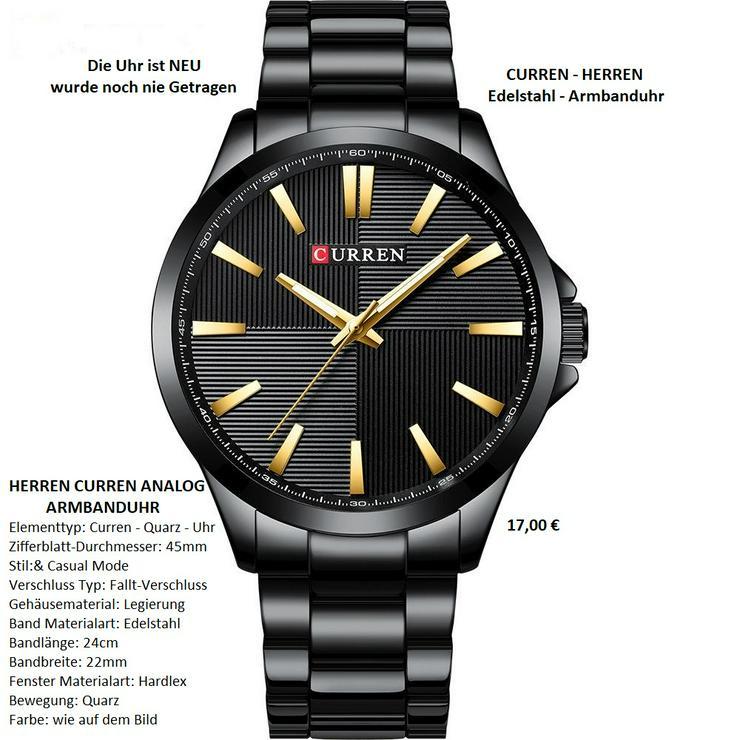 CURREN - HERREN - QUARZ- Armbanduhr