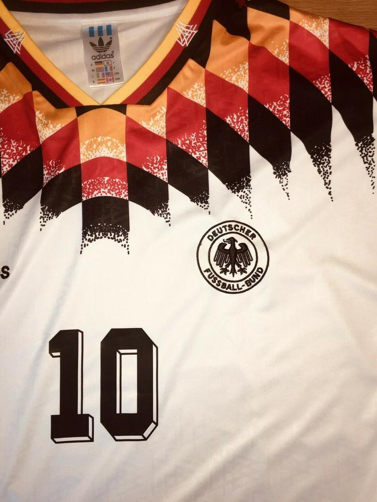 Deutschland Trikot WM 1994 DFB Größe L Lothar Matthäus
