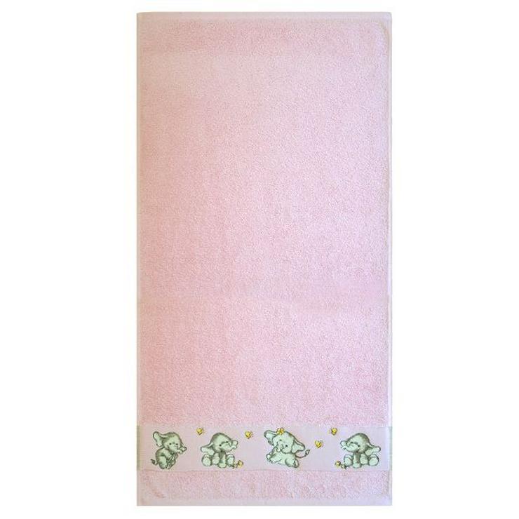 Dyckhoff Kinderhandtuch Elefant rosa