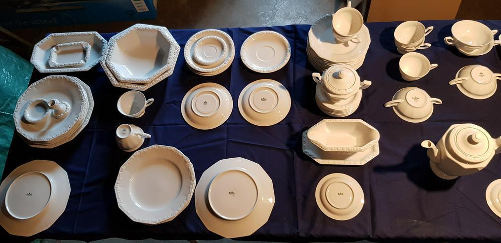 Geschirr Rosenthal Maria Weiss 75 Teile verschiedene Herstellerjahre