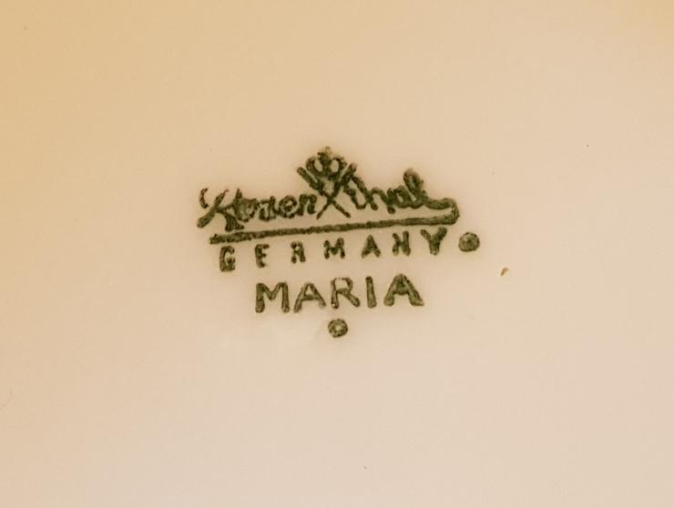 Bild 3: Geschirr Rosenthal Maria Weiss 75 Teile verschiedene Herstellerjahre