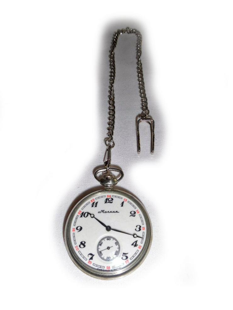 Schöne Taschenuhr von Molnija - Taschenuhren - Bild 1