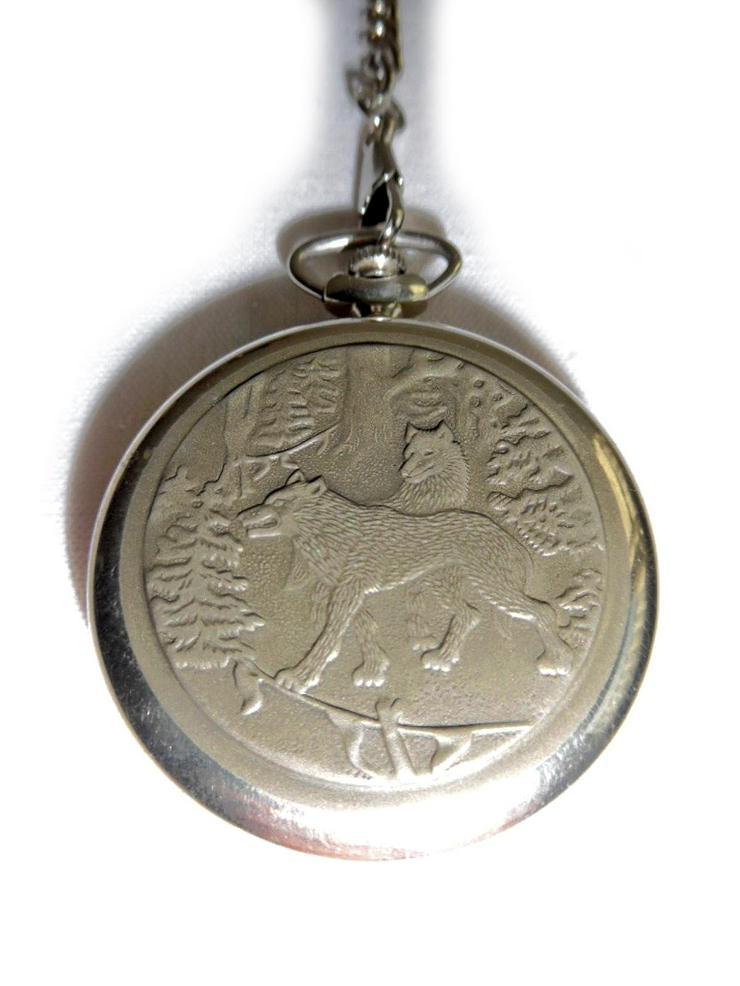 Bild 3: Schöne Taschenuhr von Molnija