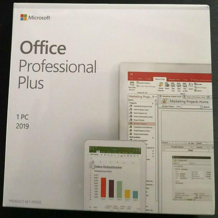 Office 2019 Pro Professional Plus  1 PC NEU