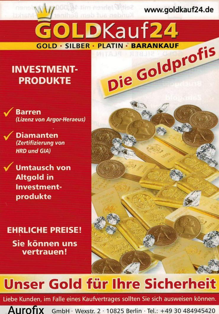 Lukrativer Goldankauf, Gold verkaufen in Berlin