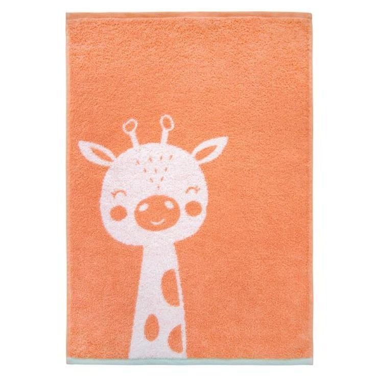 Dyckhoff Kinderhandtuch Giraffe orange