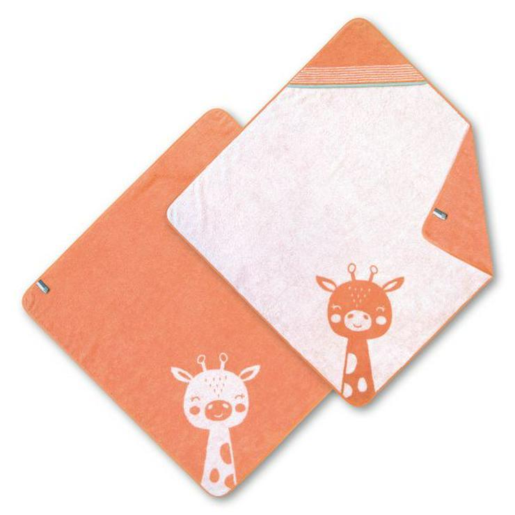 Dyckhoff Kinderkapuzentuch Giraffe orange