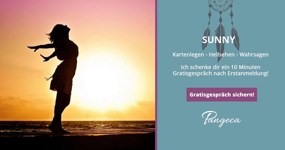 Kostenlos Kartenlegen bei Sunny auf Pangeca - 10 Minuten Gratisgespräch!
