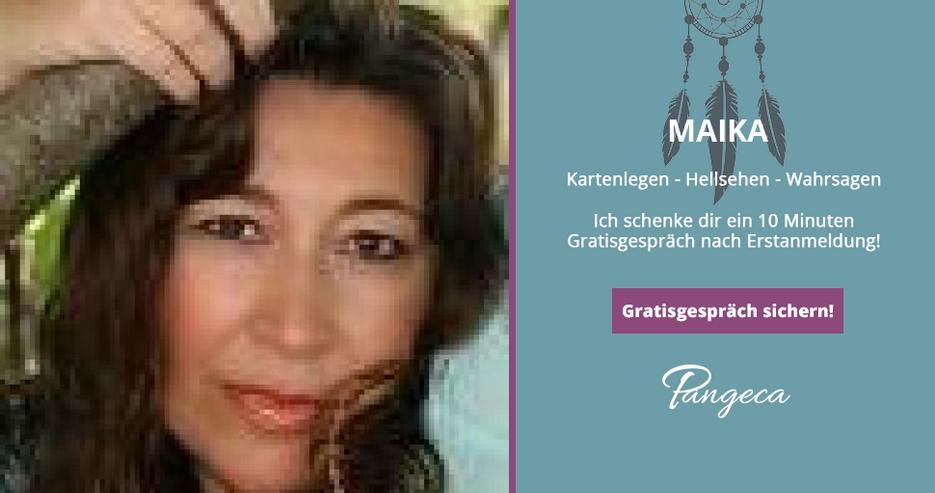 Kostenlos Kartenlegen bei Maika auf Pangeca - 10 Minuten Gratisgespräch!
