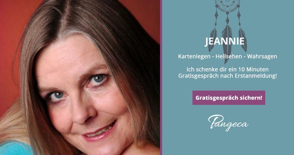 Kostenlos Kartenlegen bei Jeannie auf Pangeca - 10 Minuten Gratisgespräch!